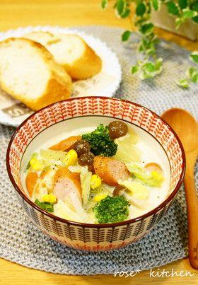白菜 たっぷり✽豆乳スープ