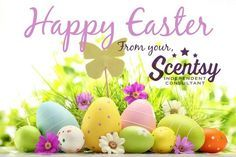 Happy Easter #scentsy #wickless #candles #wax #warmers