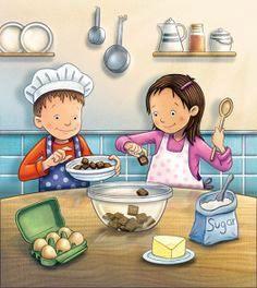Kids Baking ~ Craig Cameron