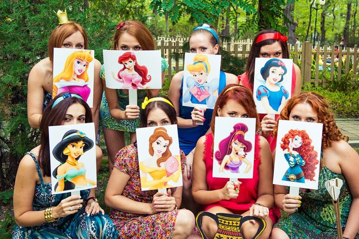 Девичник в стиле Disney Princess | 41 фотография