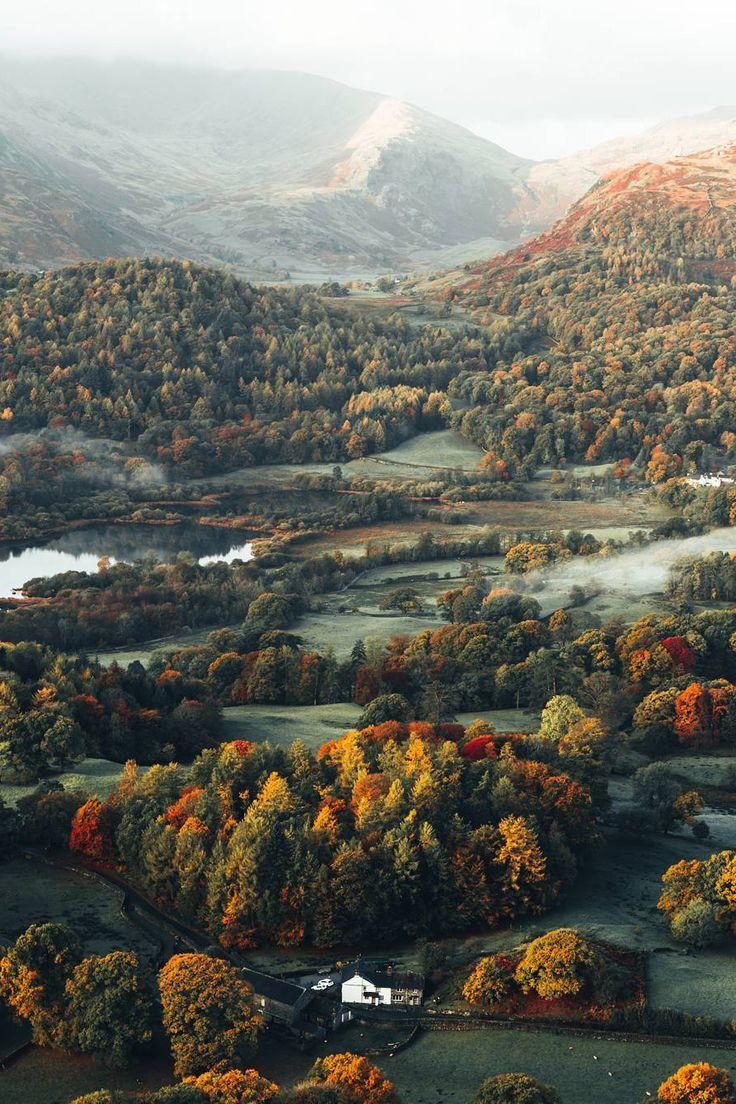 Juste wow : Voici Loughrigg Fell en Grande-Bretagne!