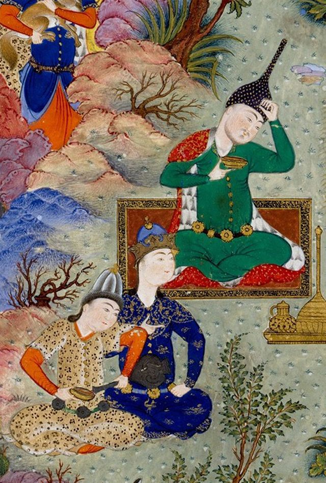A Picnic ...Persian Art,Miniature and Painting