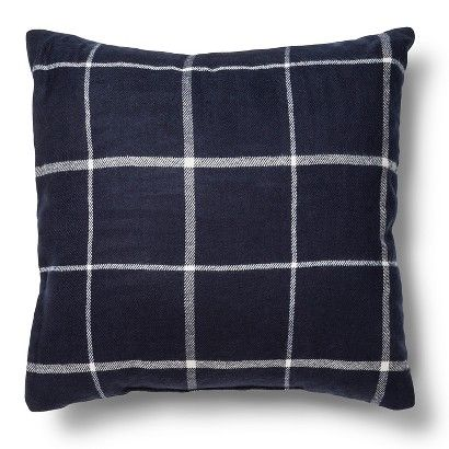 Threshold Plaid Throw Pillow - Blue Man Cave Pinterest Plaid, Chairs and Throw pillows