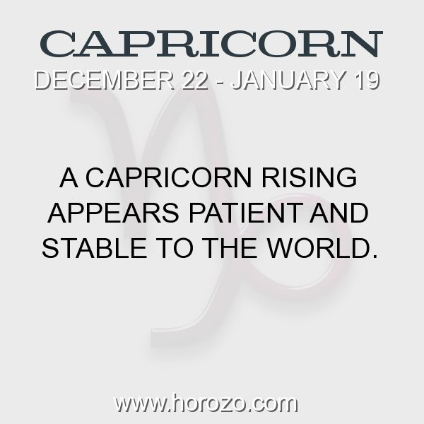 Fact about Capricorn: A Capricorn Rising appears Patient and Stable to the world. #capricorn, #capricornfact, #zodiac. Capricorn, Join To Our Site https://www.horozo.com You will find there Tarot Reading, Personality Test, Horoscope, Zodiac Facts And More. You can also chat with other members and play questions game. Try Now!