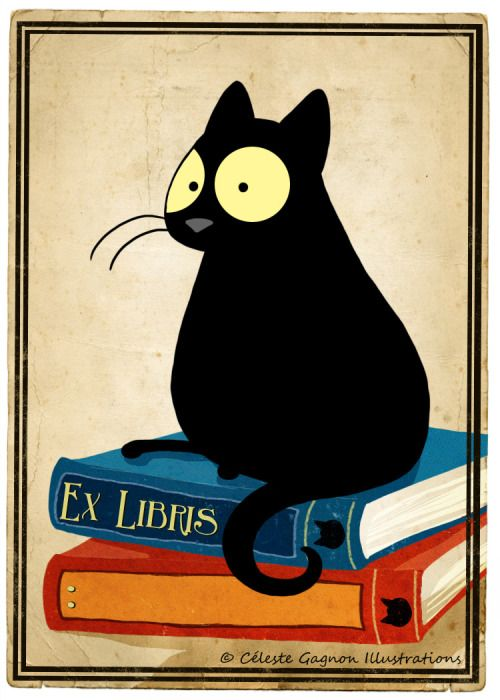 Bookplate illustration by Céleste Gagnon