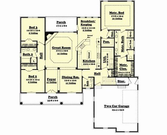 Kitchen Floor Plans With Island And Walk In Pantry 25+ beste ideeën over large kitchens with islands op pinterest