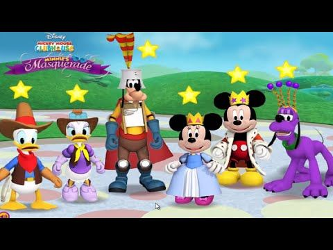 Minnie's Masquerade Match up - Mickey Mouse Clubhouse Games Full Episodes