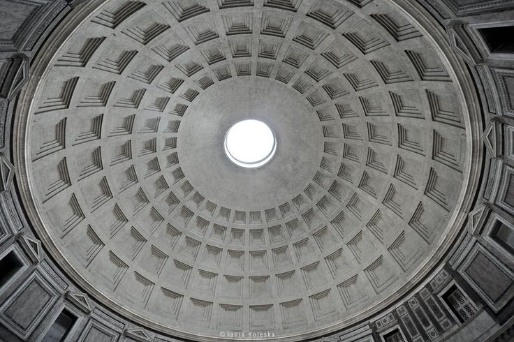https://flic.kr/p/GZdMC3 | Pantheon Roof... | Website | Tumblr |  500Px | Instagram | Facebook Press L to see  Large in Black...  ::: Click here to view my latest images. ::: Click here for my most interesting photos.  Interesting for copy? Contact Me: tkoleska@yahoo.gr   Camera Model: Canon EOS 6D ; Lens's focal length: Canon EF 17-40mm f/4 USM;  All rights reserved - Copyright © Tania Koleska
