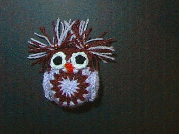 Magic Owl crochet with little bells