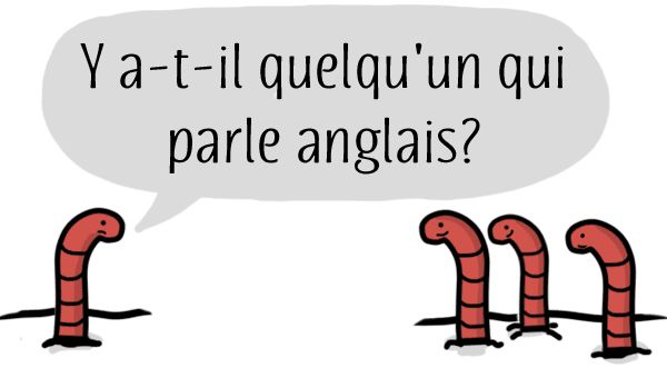 Does anyone speak English? | Free French Lesson from The French Experiment