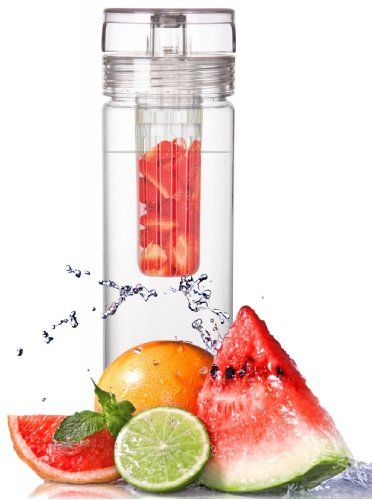 Infuser Water Bottle 27 Ounce - Made of durable Eastman TritanTM - Create Your Own Flavored Water, Naturally, with Ingredients YOU Select | FREE SHIPPING! (in USA) | The Fun & Healthy Way to Enjoy Your Daily Water. VisionUSA,http://www.amazon.com/dp/B0093F9LW6/ref=cm_sw_r_pi_dp_IZr3sb07Y34Z613E