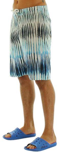 Men's Swimwear -  Blue/Black/White