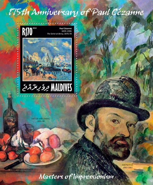 "MLD 14201 bPaul Cezanne (""The Seine at Bercy"" 1876-78)"
