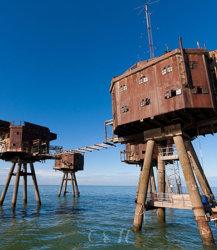 The Maunsell Forts are armed towers built in the Thames and Mersey estuaries during the Second World War to help defend the United Kingdom. They were operated as army and navy forts, and named after their designer, Guy Maunsell. The forts were decommissioned in the late 1950s and later used for other activities including pirate radio broadcasting. One of the forts is managed by the unrecognised Principality of Sealand; boats visit the remaining forts occasionally, and a consortium called…
