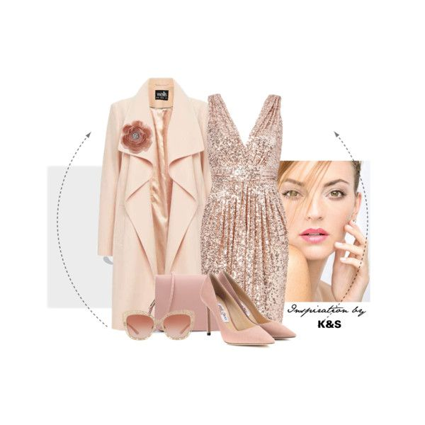 pinky by info-934 on Polyvore featuring WithChic, Jimmy Choo, Dolce&Gabbana and Miss Selfridge