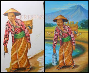 """""""Farmer"""" #Creative #Art in #painting @Touchtalent http://bit.ly/Touchtalent-p"""