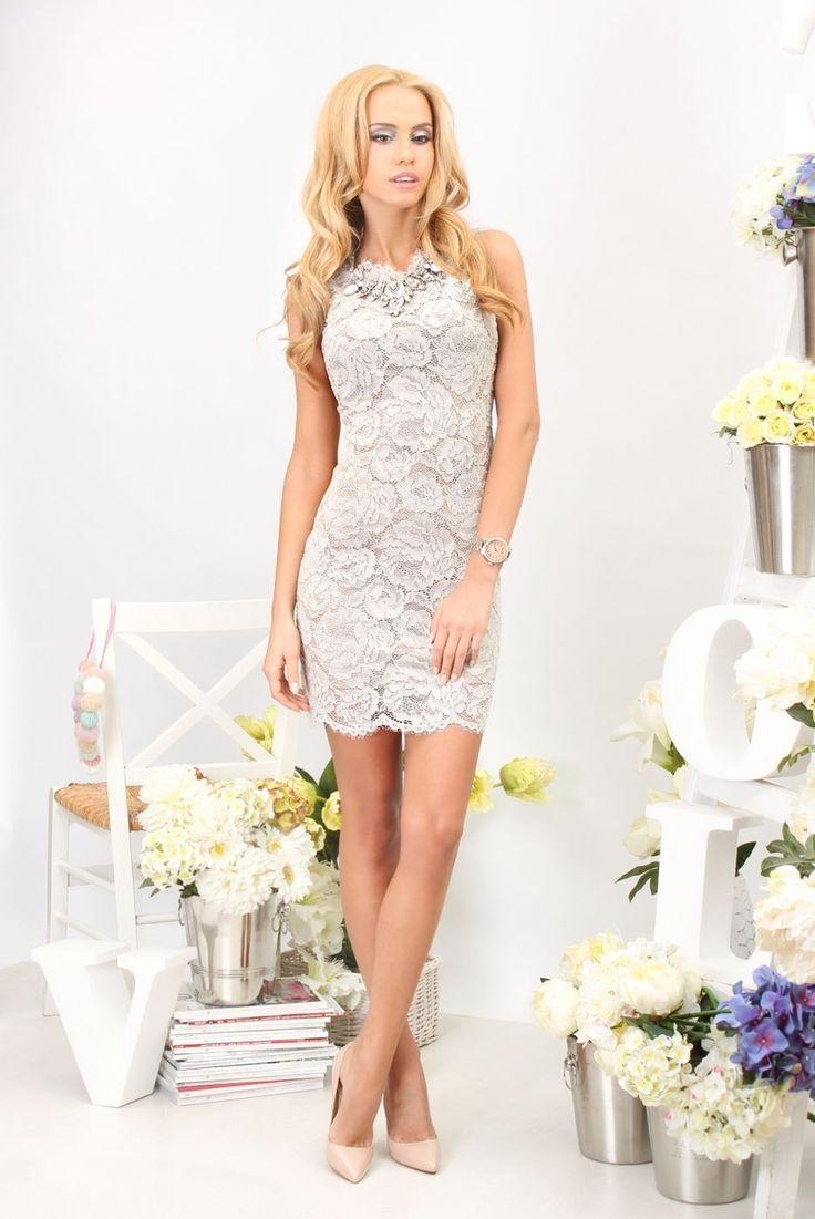 Dove Lace Dress - Baronesa Fashion House