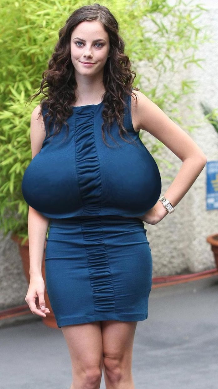 Too Much Boobage  Funny   Big Girl Fashion, Heavy -5601