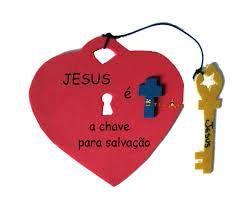 Jesus the Key to Salvation Heart Craft