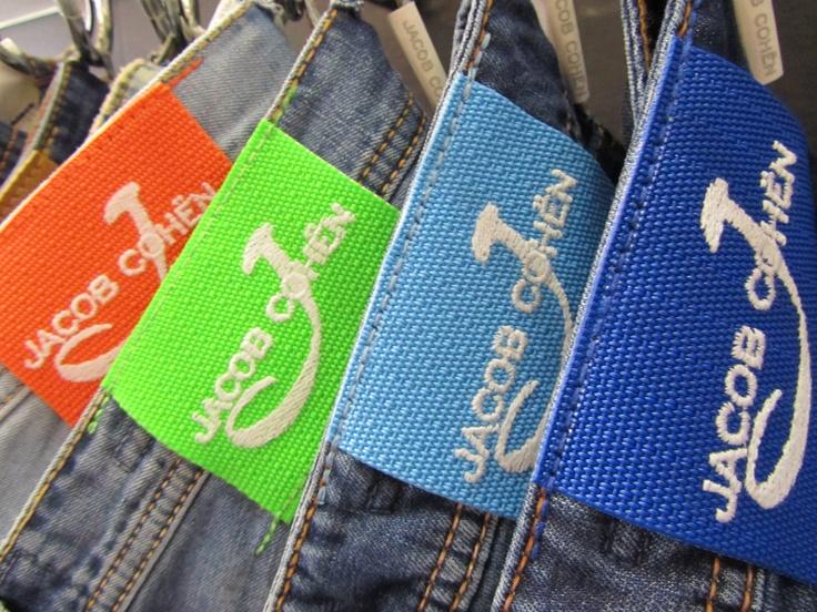 Jacob Cohen back label #JacobCohen #label #tailoredjeans #denim #jeans