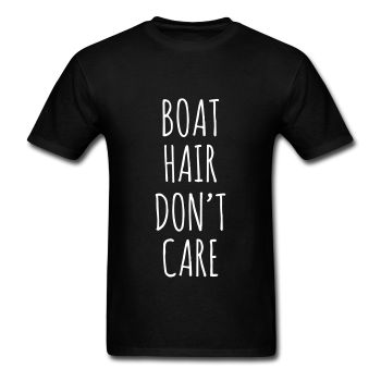 Boat Hair Don't Care, Unisex Graphic T-Shirt