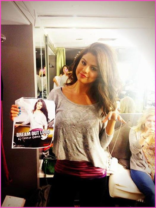 Go Behind The Scenes Of Selena Gomez's Dream Out Loud Back To School Commercial