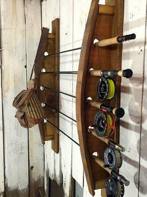 Goin' fishin'!  Fly fishing rack