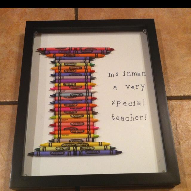 Kindergarten Teacher\'s Christmas Gift | Craft Ideas | Teacher gifts ...