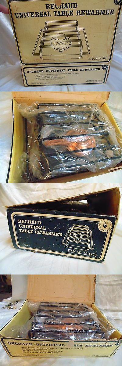 Fondue Sets 66749: Vtg Retro Wrought Iron Rechaud With Fondue Burner Flamer Brazer New In Box -> BUY IT NOW ONLY: $39.95 on eBay!