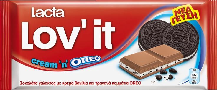 Lacta Lov' it Cream 'n' OREO