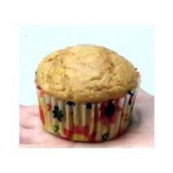 Muffins de abóbora com gengibre