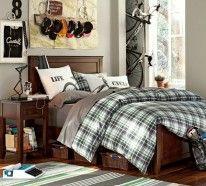 Ein kleines Dachgeschoss für das Schlafzimmer Ihres Jungen, und eine Leiter, um auf den Spielplatz zu kommen?Cooles trendy Teenager Zimmer für Jungen...