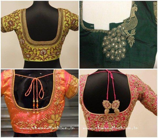 Zardosi Work Bridal jacket designs
