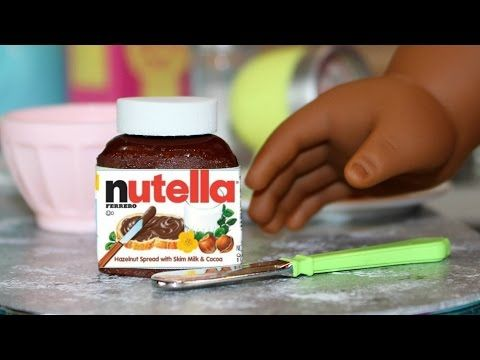 Learn how to make Doll Nutella. This doll craft is fun and easy to make. We made this Doll Nutella for our dolls to put on their doll food! Doll Nutella Printables …