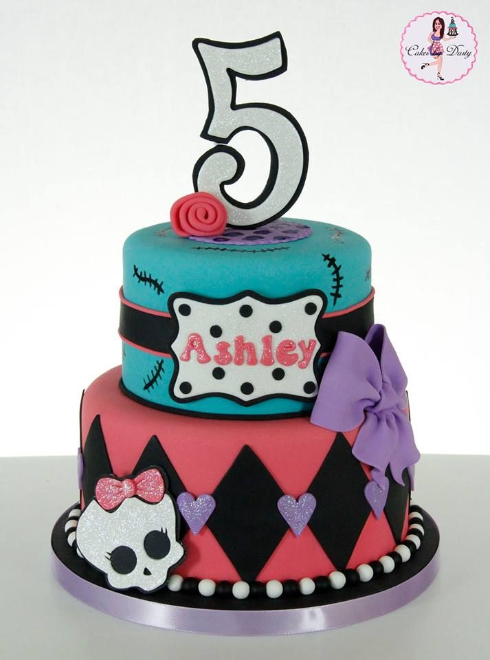 how to make a monster high cake