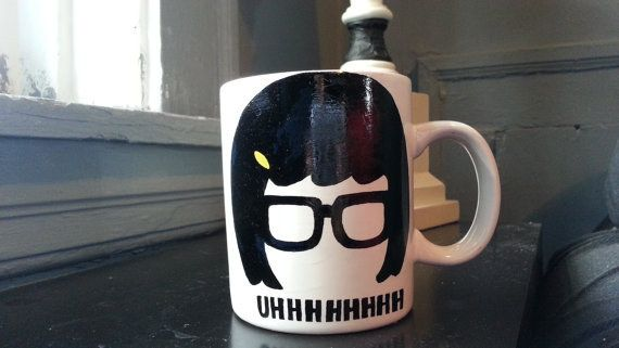 "This Mug Sums Up Most Of Our Mornings… | Community Post: 17 ""Bob's Burgers"" Goodies You Can Snag On Etsy"
