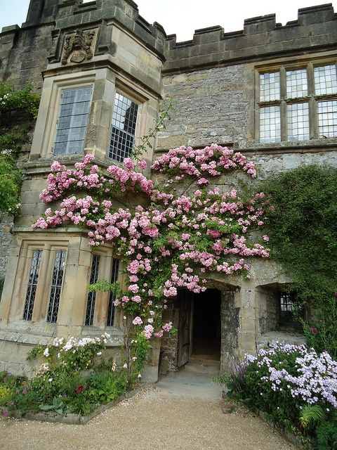 Hall Derbyshire English Manor House. just a few butlers and staff