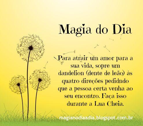 magia do dia