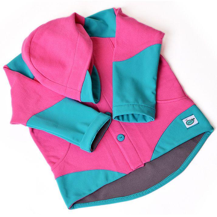 Adry.cz: Dětská polo softshellová bunda (růžovo-tyrkysová), http://adry.cz/detske-bundy/detska-softshellova-bunda-ruzovo-tyrkysova