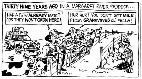 A funny little cartoon from the Margaret River Wine Industry Association