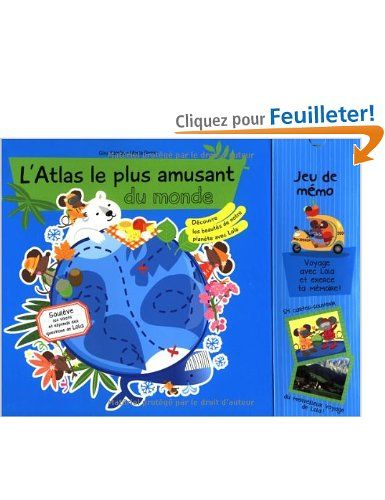 L'Atlas le plus amusant du monde - Gina Samba, Marta Dansa, Marie Trinchant - Amazon.fr - Livres