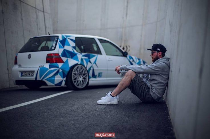 Golf MK4 #carwrapping #folie #rotiform