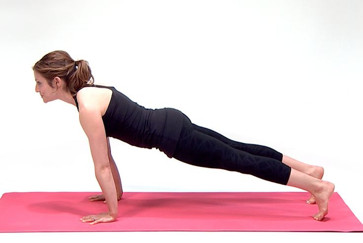 Here's how to master a plank before your first yoga class, with instructions from Sarah Jackson of Lemondrop Yoga.