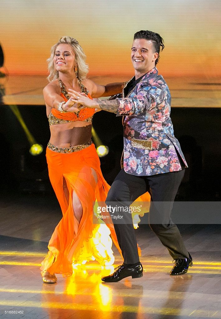 "March 21, 2016: Dancing with the Stars - Paige VanZant and Mark Ballas perform the fox trot to ""Ain't Got Far To Go"" by Jess Glynne."