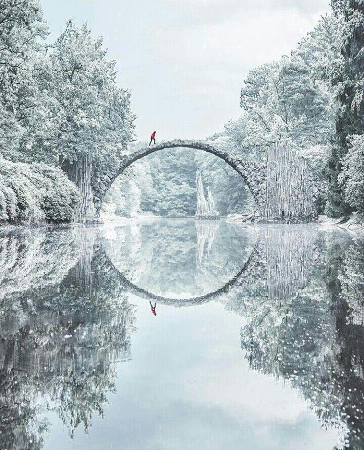 Ice mirror