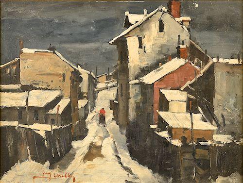 Jean Cheller - Iarnă în Mahala