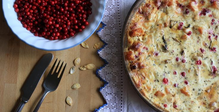 Zapekaná tekvica Hokkaido s brusnicami http://www.sikovnamamina.sk/tekvica-recepty/
