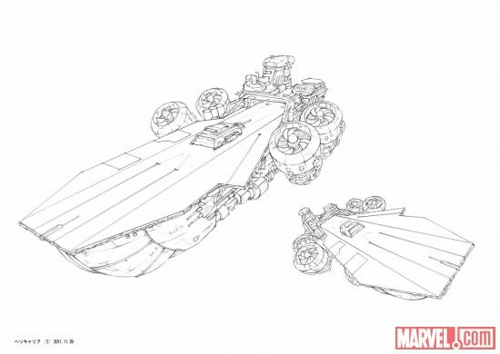 Feast Your Eyes On These Concept Designs For Heroes Villains And Helicarriers In Time