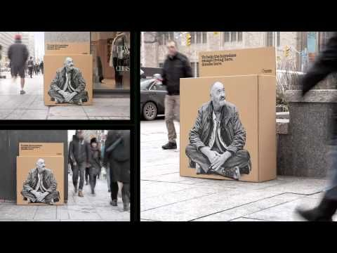 """Raising the Roof """"Homeless Donations Boxes"""" - YouTube"""