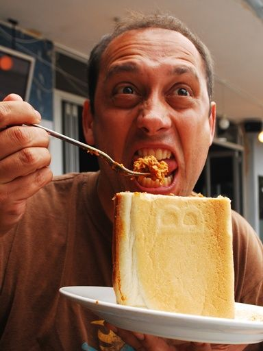 Chicken Curry Funny - Bunny Chow!   The Travel Tart Blog